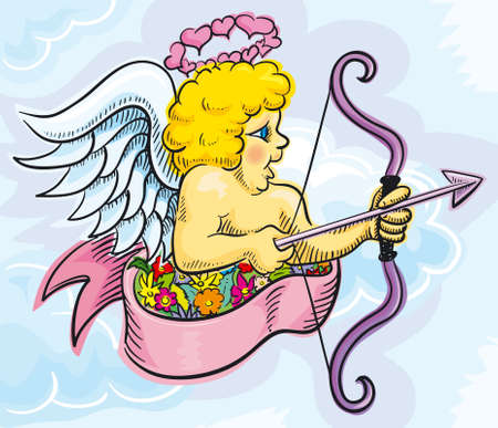 Cupid Stock Vector - 3237535