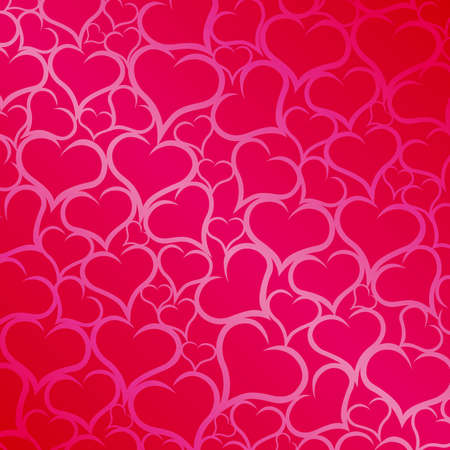 purple hearts: Pink hearts background