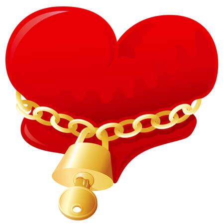 Unlock my love Vector