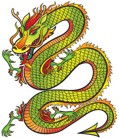 Great Dragon Stock Vector - 3295482