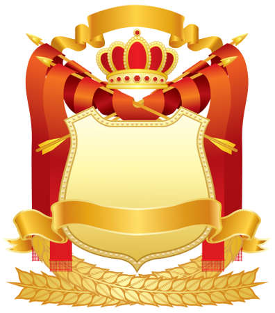 yellow crown: Coat of Arms