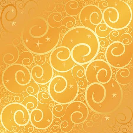 Swirlstar gold