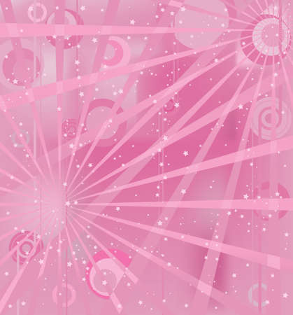 Pink light Vector