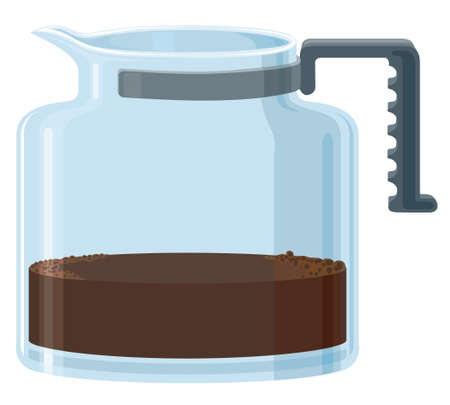 stimulation: Filter Coffee Illustration