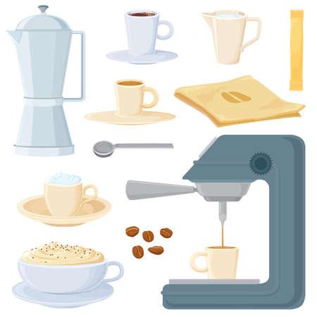all in: Gran caf� en la habitaci�n - italiano (europeo) de estilo. En todas las capas separadas. Vectores