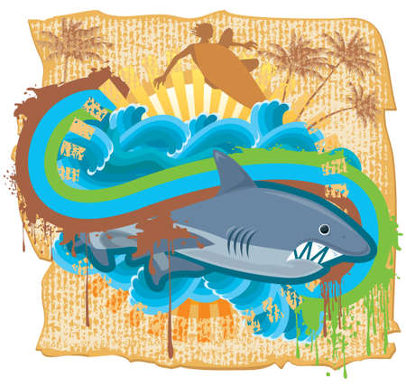 Surfing Stock Vector - 5677679