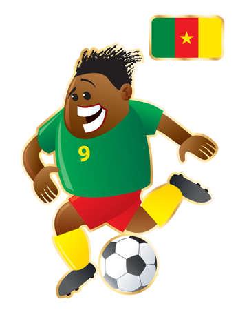 Football mascote Cameroon
