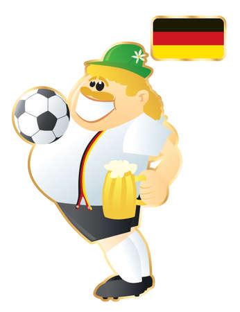 Football mascote Germany