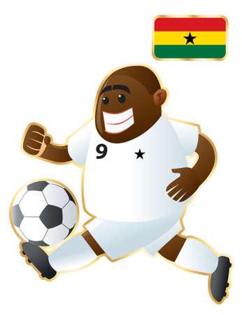 Football mascote Ghana