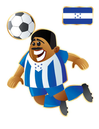 Football mascote Honduras
