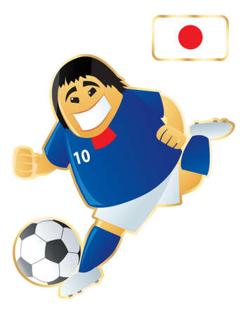 Football mascote Japan