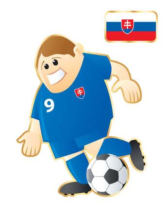 slovakian: Football mascot Slovakia