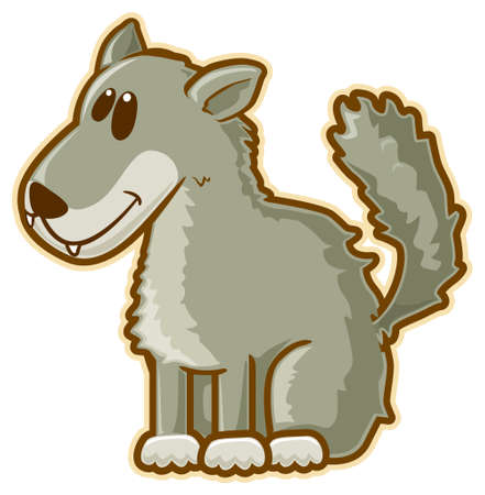 Wolf. Stock Photo - 6829265