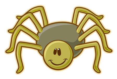 クモ。  イラスト・ベクター素材