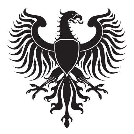 Original cresta de águila. Fácil de manejar, cambio de colores etc.. Foto de archivo - 6998209