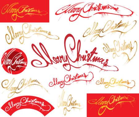 Merry Christmas Stock Vector - 8146429