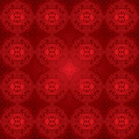 prestige: Red seamless pattern