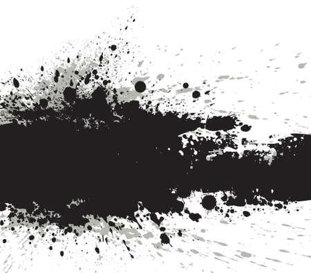 inky: Grunge banner