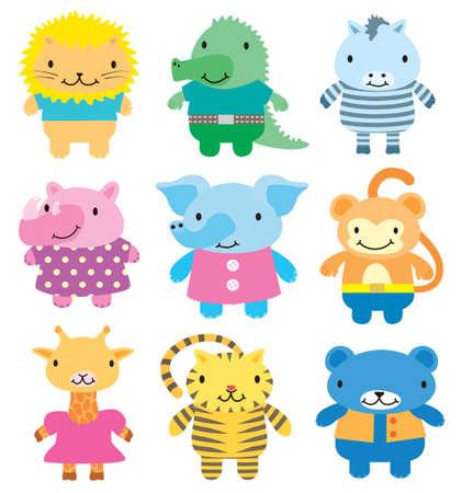 leon de dibujos animados: Los animales salvajes icono se
