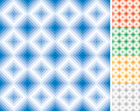 Square seamless pattern Stock Vector - 8627348
