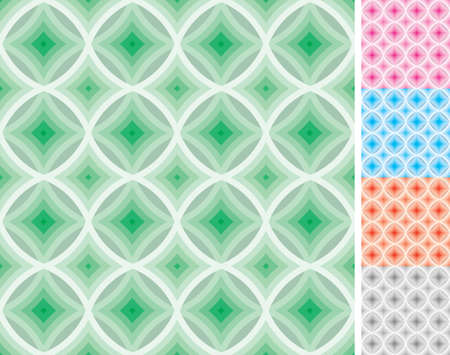 swatch: Seamless swatch pattern. Five swatch pattern included.