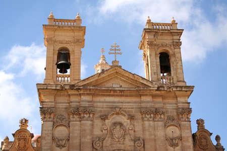 prayer tower: St. George Basilica Gozo, Malta
