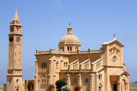 Ta Pinu Church in Gozo, Malta