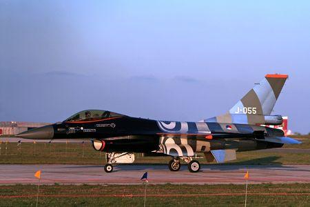 NAF F-16 Stock Photo