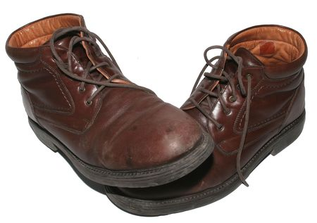 Brown Business boots Stock Photo - 896692