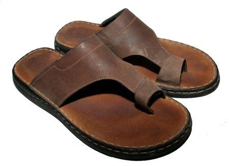 Brown flip flop