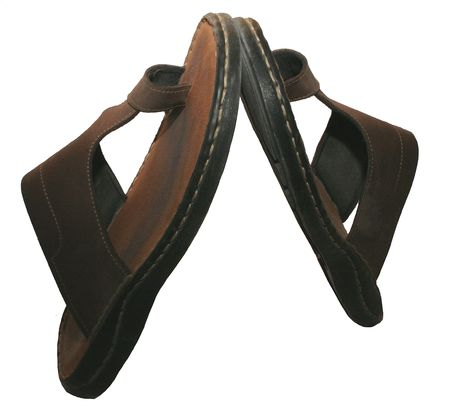 Brown flip flop Stock Photo - 896695