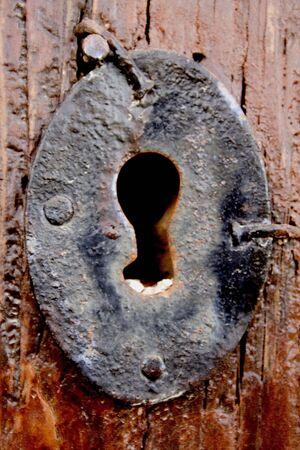 key lock hole photo