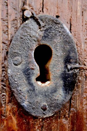key lock hole