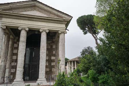 Temple of Portuno in the Rome Boario Forum
