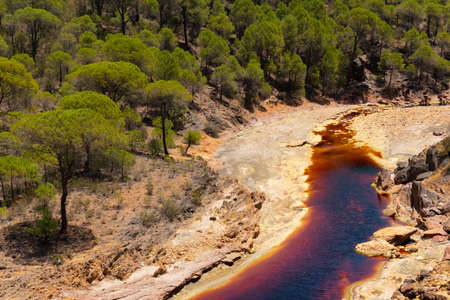 Rio Tinto in Huelva, Andalusia, southern Spain