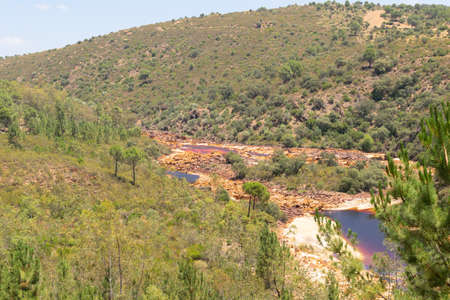 Rio Tinto in Huelva, Andalusia, southern Spain