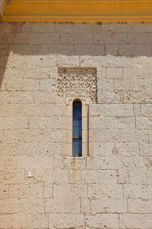 La Rabida Monastery in Huelva. Mudejar art in a place where Christopher Columbus began to organize his trip. Huelva, Andalusia, Spain.