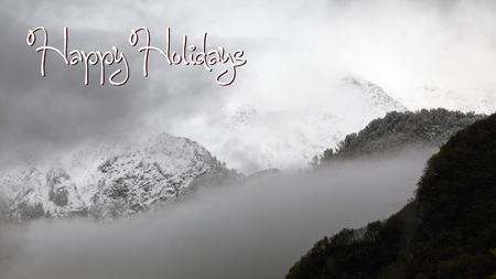 holidays: Happy holidays