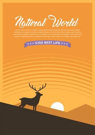 Natural world 2 Illustration