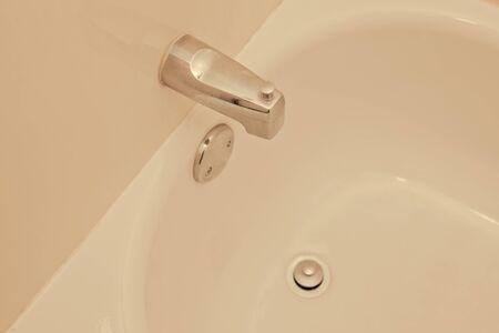 Empty bathtub Stok Fotoğraf