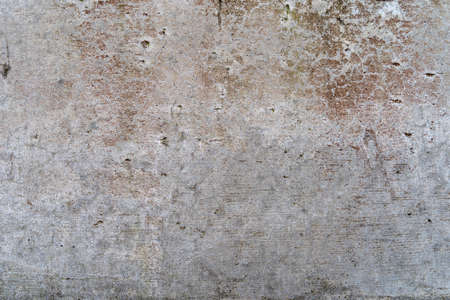 Aged concrete with red patterns and cracks - high quality texture / background