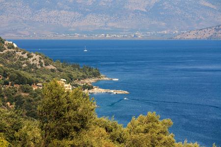 Sea view on Corfu Island