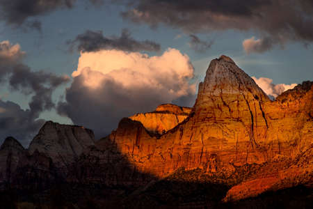 Sunset at Zion National Park, Utah