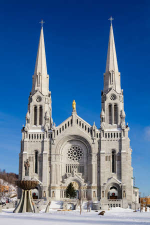 The Basilica of Saint Anne in Quebec City, Canada photo