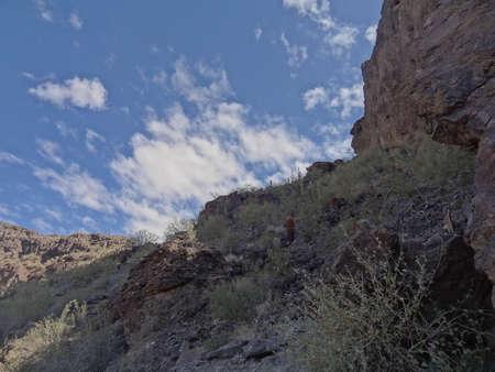 Picacho Peak sky