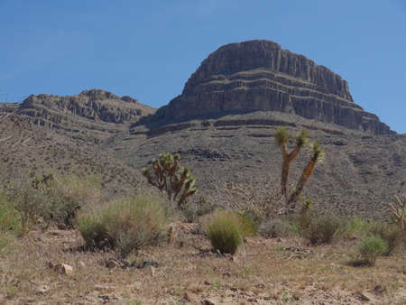 butte: Butte near Grand Canyon