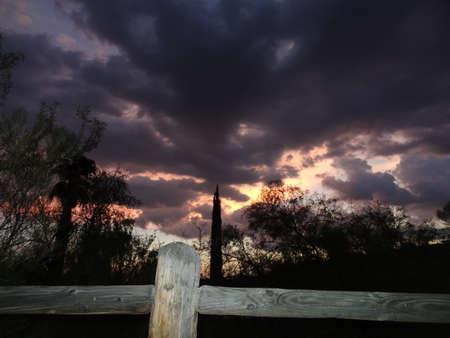 Sunset in Tucson