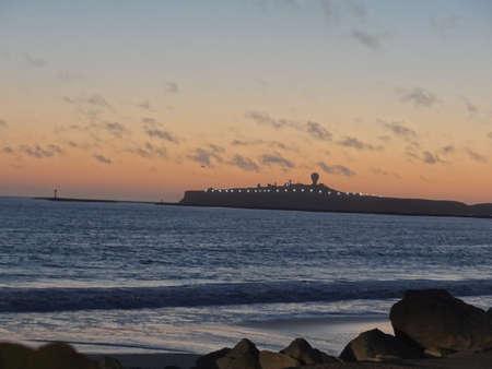 Half Moon Bay sunset at Pillar Point