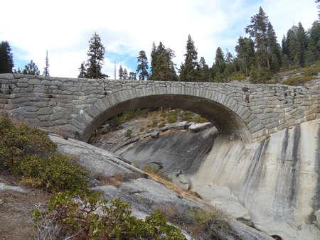Sequoia National Park bridge Stock fotó