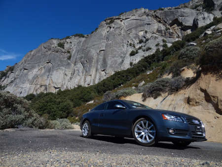 Audo A5 in Mineral King, Sequoia National Park,